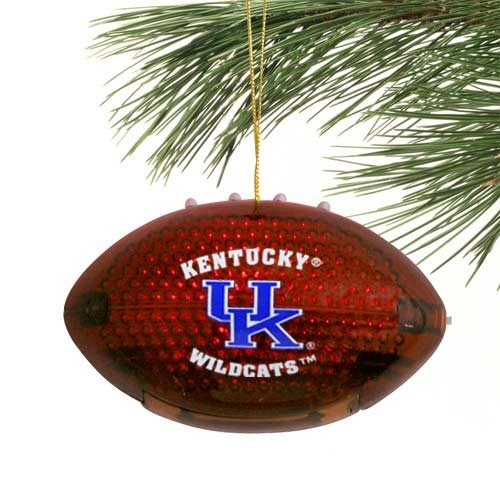 Kentucky Wildcats Acrylic Light Up Football Ornament at Amazon.com