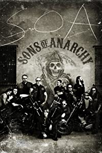 Sons of Anarchy Vintage Samcro Poster, 24 by 36-Inch