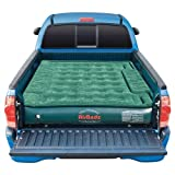 """AirBedz Lite"" Full Size Short 6-6.5-Feet and Full Size Long 8-Feet PVC Truck Bed Air Mattress with DC Corded Pump  (Green, 76x63.5x12-Inch Inflated)"