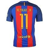 Barcelona No.11 Neymar Men's Home Football Shirt 2016/2017 Kit Size Large