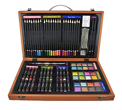 Strokes Art Supplies Deluxe Art Set For Drawing And
