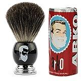 Rusty Bob - Afeitarse hecha de genuina pelo de tej