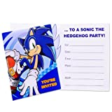Sonic the Hedgehog Invitations (8 count)