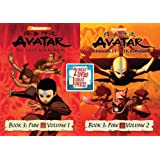 Avatar The Last Airbender Double Pack: Book 3 V 1 & Book 3 V 2 (Includes: Avatar - The Last Airbender:  Book 3:  Fire- Volume 1, Avatar: The Last Airbender - Book 3: Fire Volume 2)