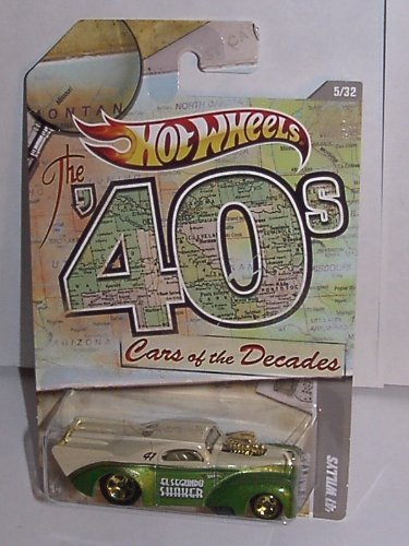 HOT WHEELS CARS OF THE DECADES 40's '41 WILLYS #5/32 - 1