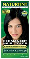 Permanent Hair Color  1N Ebony Black 5.45 oz  Multi-Pack