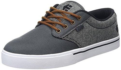Etnies Men's Jameson 2 ECO Skateboarding Shoe, Dark Grey/Black/White, 9.5 M US