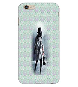 PrintDhaba Violin Girl D-3010 Back Case Cover for APPLE IPHONE 6S (Multi-Coloured)