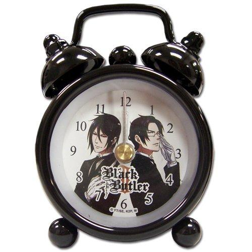 Desk Clock Mini: Black Butler - Sebastian Vs. Claude GE Animation