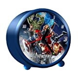 MARVEL AVENGERS ALARM CLOCK KIDS BEDROOM GIFT SUPER HEROES CHILDRENS BOYS NEW