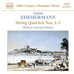 Zimmermann - String Quartets Op 3 by Naxos