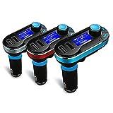 iFormosa® シガーソケット マルチメディア自動車キット MP3プレーヤー ワイヤレスFMトランスミッター USB SDカード対応 LCD液晶付き シルバー IF-CMP3-T66-S