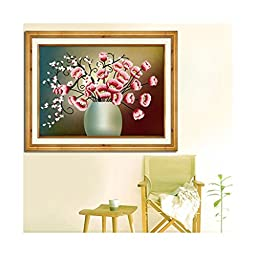 5d Diamond Painting Living Room Dining Room Cross Stitch Diamond Stitch Beautiful and Charming Diamond Paste Round Diamond