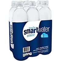 6-Pack Glaceau Smartwater 1-Liter Bottle