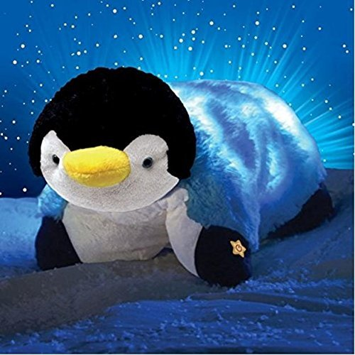 Pillow Pets Glow Pets Penguin, 15 Inches (Heat Pillow Pet compare prices)