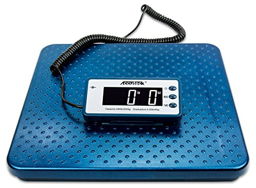 Accuteck 440lb Heavy Duty Digital Metal Industry Shipping Postal scale (ACB440) (Accuteck Digital Postal Scale compare prices)