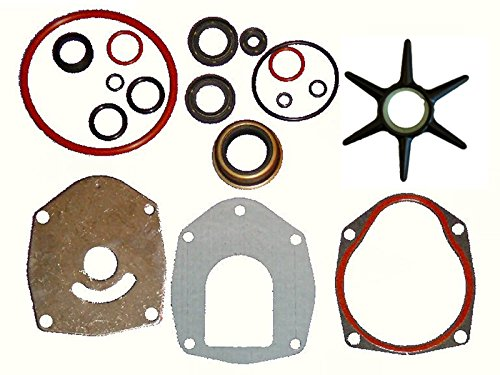 Combination Seal Kit and Water Pump Repair Kit for Alpha Gen II compare to 26-816575A3 and 47-43026Q06