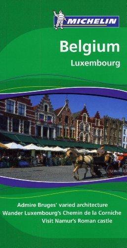 Michelin Green Guide Belgium, 6e (Green Guide/Michelin)