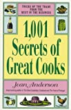 1,001 Secrets of Great Cooks (0399521534) by Anderson, Jean