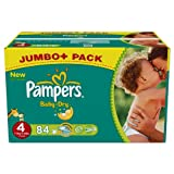 Pampers Baby Dry Nappies Size 4 Maxi (7-18 kg) Jumbo Plus 1 x Pack of 84