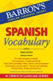 img - for Spanish Vocabulary (Barron's Foreign Language Guides) book / textbook / text book