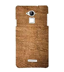 PrintVisa Plain Wooden Pattern 3D Hard Polycarbonate Designer Back Case Cover for Coolpad Note 3