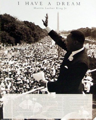 Martin Luther King Jr Dream poster