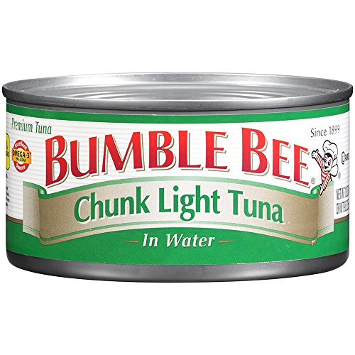 bumble bee chunk light tuna in water 12oz pack of 12 tuna. Black Bedroom Furniture Sets. Home Design Ideas