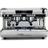 Nuova Simonelli Aurelia II Volumetric 2 Group Espresso Machine MAUREIIVOL02ND0001 with Free Espresso Starter Kit and 3M Water Filter System (Color: Black)