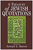 img - for A Treasury of Jewish Quotations book / textbook / text book