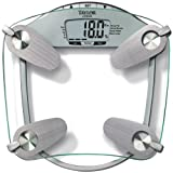 Taylor 5599 440 Pound Tempered Glass Body Fat-Body Water Scale ~ Taylor Precision