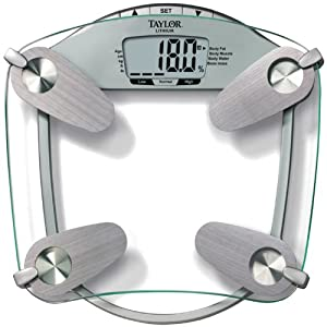 Amazon.com: Taylor 5599 440 Pound Tempered Glass Body Fat