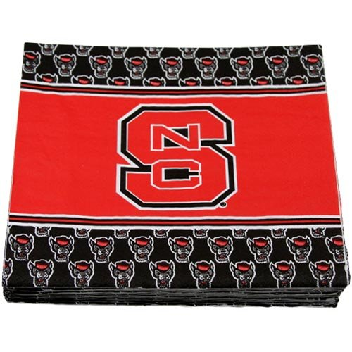 NCAA North Carolina State Wolfpack 16-Pack Luncheon Napkins - 1