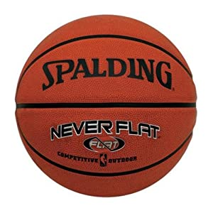 Spalding Never Flat Outdoor Basketball by Spalding
