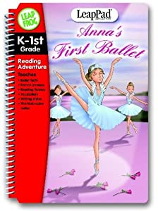 LeapFrog LeapPad Educational Book: Anna's First Ballet