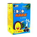Coco Nara Hookah Shisha Natural Charcoals 108 Pieces