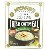 McCANN'S Irish Oatmeal, Quick Cooking Rolled Oats, 16-Ounce Boxes (Pack of 6) ~ McCann's