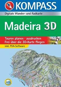Madeira. CD-ROM für Windows 95/98/2000/NT/XP: Digitale Outdoorkarte. Per Mouseklick Touren planen und Distanzen messen. Einfacher Up- und Download auf Ihr GPS-Gerät. Top aktuelle KOMPASS Outdoorkarte auf CD. Inkl. KOMPASSkompakt