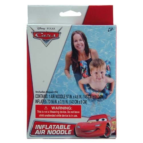 Disney Cars Inflatable Swimming Pool Air Noodle for Kids - 1
