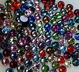 250 SWAROVSKI Rhinestones Crystal FlatBack MIX 5ss