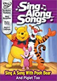 Disney's Sing Along Songs – Sing a Song With Pooh Bear and Piglet Too