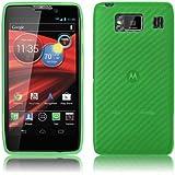 PrimaCase - Grün TPU Silikon Case für Motorola RAZR HD