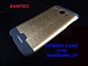 APPLE IPHONE 6 PLUS/6+ S SAMTEC MOTOMO HYBRID BACK COVER CASE (GOLD)