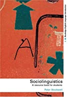 Sociolinguistics by Stockwell