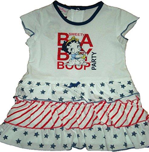 Vestito con gonna a balze Betty Boop (12 mesi)
