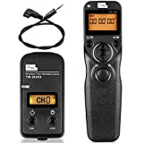 PIXEL S1 LCD 2.4GHz Wired or Wireless Timer Remote Control for Sony A560, A580, A290, A390, A450, A33, A500, A550, A850, A900, A350, A300,A200, A700, A100