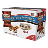 Snyders 827582 Mini Pretzels Original 0.9 Oz Bags 60/carton