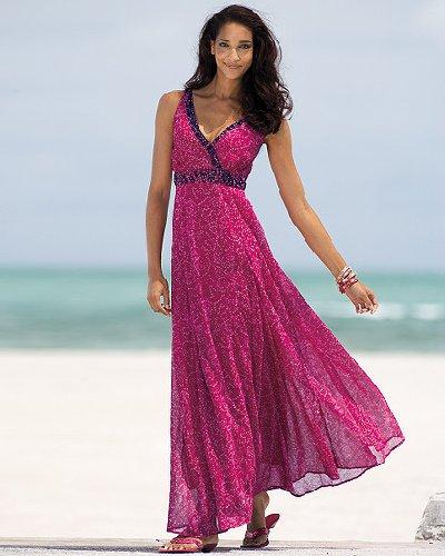 Georgette dress by Newport News