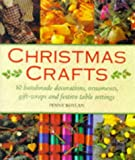 img - for Christmas Crafts: 50 Handmade Decorations, Ornaments, Gift Wraps and Festive Tablesettings book / textbook / text book