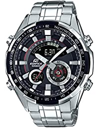 Casio Edifice Analog-Digital Black Dial Men's Watch-ERA-600D-1AVUDF (EX354)